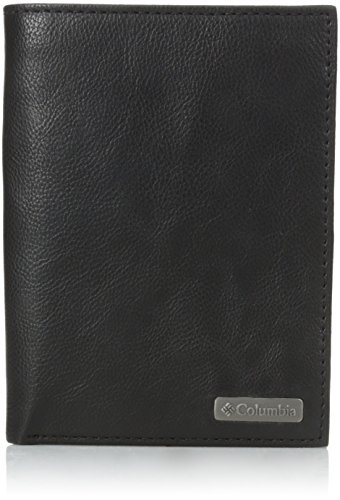 Columbia Men's Rfid Blocking Passport Case With Ornament