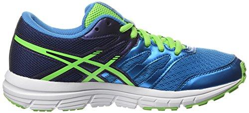 ASICS - Gel-zaraca 4 Gs, Zapatillas de Running Niños Azul (methyl Blue/green Gecko/indigo Blue 4285)