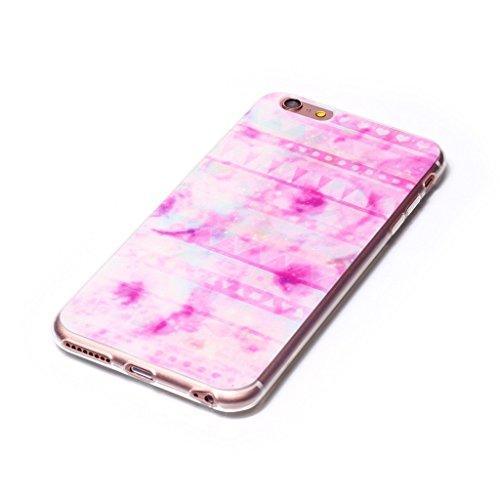 "iPhone 6 Plus / 6S Plus Hülle , Leiai Mode Rose Wolke TPU Weich Tasche Schutzhülle Silikon Handyhülle Stoßdämpfende Schale Case Shell für Apple iPhone 6 Plus / 6S Plus 5.5"""