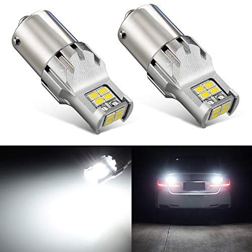 JDM ASTAR 2800 Lumens Extremely Bright 1:1 Design 3020 Chips 1156 1141 1073 7506 LED Bulbs, Xenon White ()
