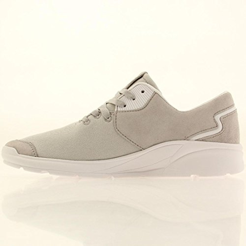 Supra Noiz, Unisex Adults' Low-Top Sneakers Light Gray / Off White
