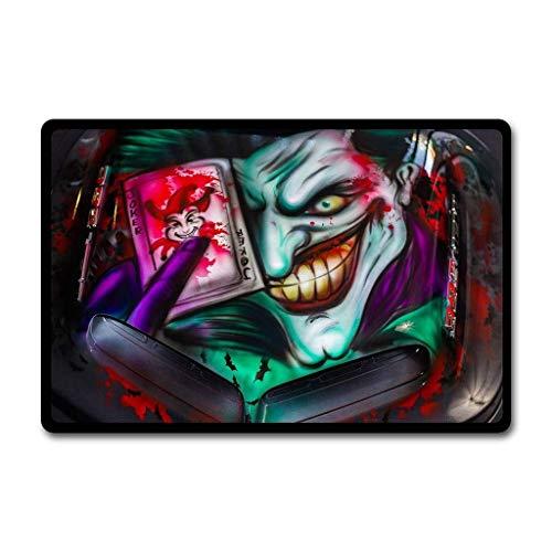 Needyounow Halloween Cartoon Graffiti Evil Joker, Humor Polyester