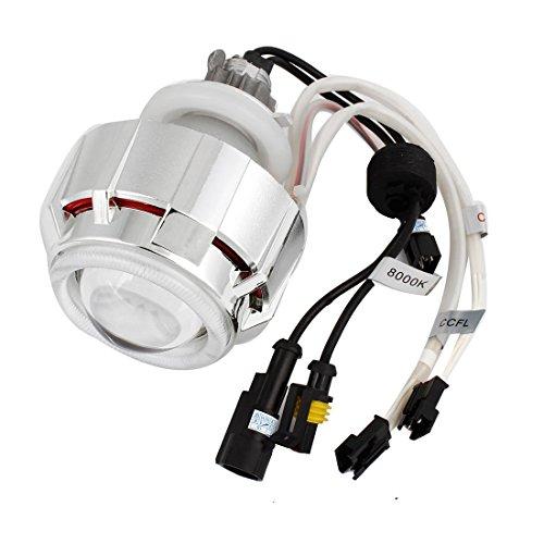 Auto 8000K Angel Eyes 45mm Dia HID Projektor-Objektiv-Weiß-Lampen-Licht