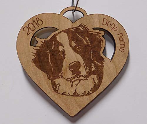 Mountain Dog Ornaments (Bernese Mountain Dog, Bernese Mountain Dog Ornament, Personalized Bernese Mountain Dog Ornament, Dog gift, Dog Ornament)