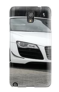 Cute Tpu LatonyaSBlack Audi R8 Spyder 40 Case Cover For Galaxy Note 3