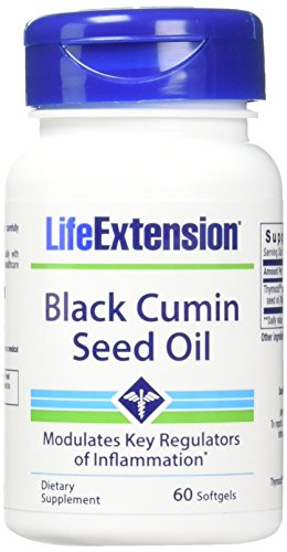 Life Extension Black Cumin Seed Oil Soft Gels, 60 Count by Life Extension
