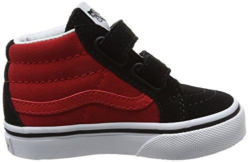 Red2 racing Bebé tone De black Vans Unisex Entrenamiento Zapatillas Sk8 V mid Reissue Rojo qW4WwBATH