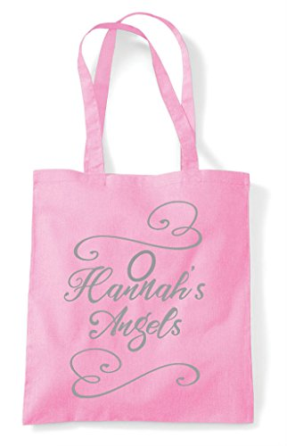 Party Do Bag Angels Hen Tote Light Customised Shopper Pink zqPdSgwSx