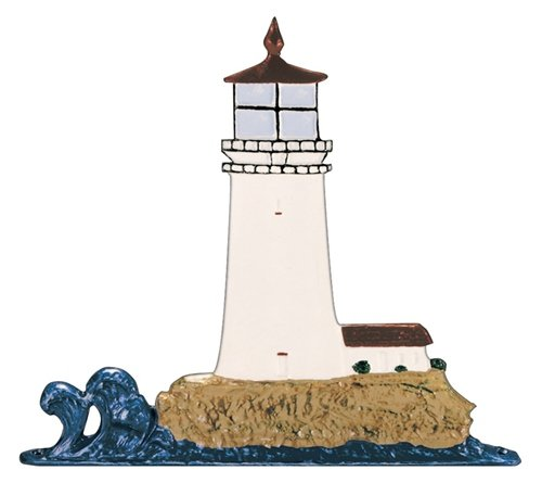[Whitehall Products Lighthouse Weathervane, 30-Inch, Rooftop Color] (Lighthouse Weathervane Rooftop Color)