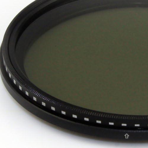 Kernel 72mm Variable Neutral Density ND2 to ND400 Filter