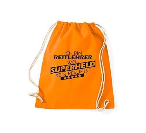 Shirtstown - Bolso de tela para mujer naranja