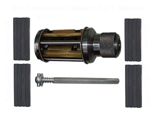 Safedeals365 Atl05004 Brand New Cylinder Engine Hone Kit - 62 to 88 Mm Honing Machine + Honing Stones, Coarse 120, Medium 180, Fine 320+220 (Cylinder Engine Hone Kit)