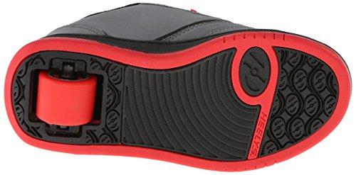 Heelys Propel 2.0 Skate-Schuh (kleines Kind / großes Kind) Grau / Schwarz / Rot