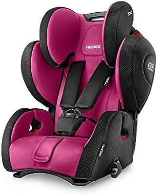 Recaro Young Sport Hero Car Seat Group 1 2 3 Pink