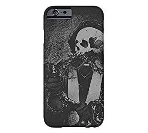Cthulhu Skull iPhone 6 Eerie black Barely There Phone Case - Design By Humans