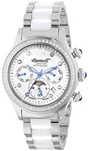 Ingersoll Women's IN2711WHMB Sacramento Analog Display Automatic Self Wind Two Tone Watch