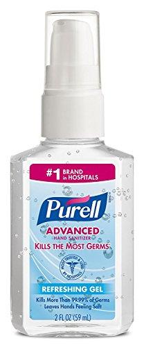 (Purell Advanced Hand Sanitizer Refreshing Gel, Pump Bottle, 2)