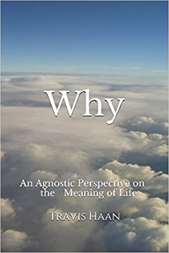 "The cover of my book, ""Why: An Agnostic Perspective on the Meaning of Life"""
