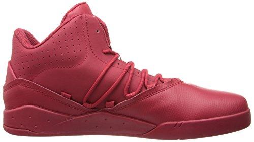 Supra Estaban - Zapatillas altas, color Red / Red Red, talla 46 EU (11 Erwachsene UK)