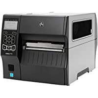 Zebra Technologies ZT42062-T01A000Z Series ZT420 Direct Thermal/Thermal Transfer Industrial Printer, 203 DPI, 6 Max Print Width, Tear Bar, USB/Serial/10/100 Ethernet/BT 2.1, USB Host, EZPL, Wi-Fi