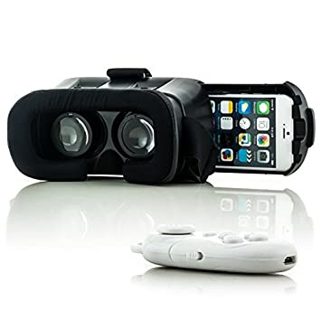 3d Vr Brille Virtual Reality Box Universal Bluetooth Für Android Iphone Samsung Tv- & Heim-audio-zubehör Sonstige