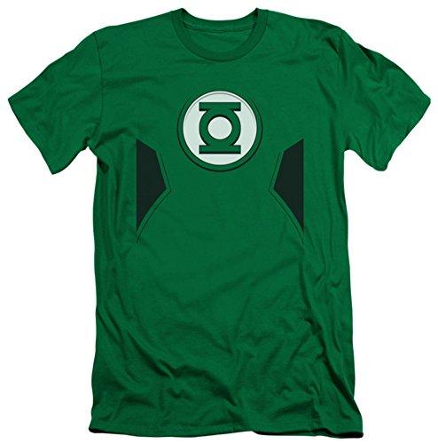 Green Lantern - New Green Lantern Costume (slim fit) T-Shirt Size M ()