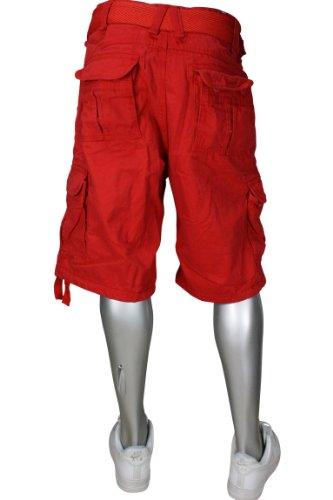 Jordan Craig Cargo Shorts Fire Red. Size: 36W x 14 1/2L by Jordan Craig