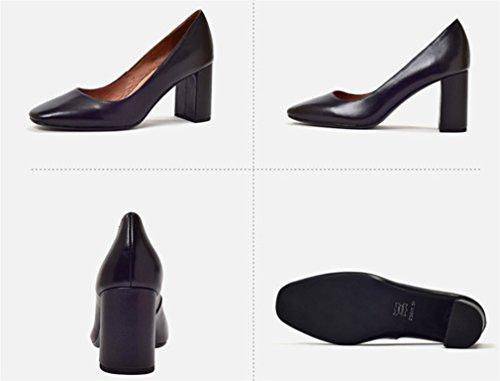 Alto Parpadear Lucky Fiesta Vestido Black Sandalias La Las a Tacón Mujeres Fecha Boda Novia Clover Zapatos Oficina a Los De Zapatos Corte wfnfrYqgB