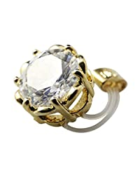 HIGH'S Crown Collection 18K Gold Diamond Adjustable Elastic Gift Boxed Toe Ring