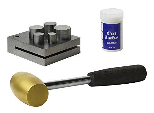 5 piece metal disk cutter set - 7