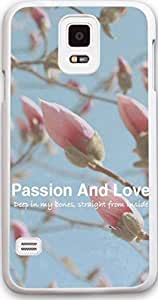 Galaxy s5 Case Dseason, Samsung Galaxy s5 Case New Slim Hard Unique Design Christian Quotes Passion and love