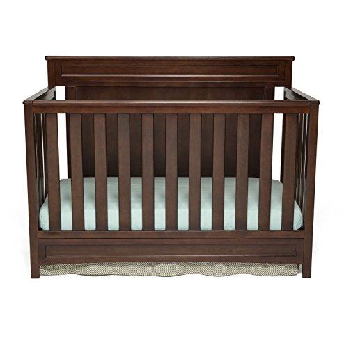 Delta Children Princeton 4-in-1 Crib, Dark Chocolate Only $139.99 (Was $217)