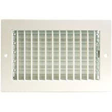 """10"""" x 8"""" ADJUSTABLE DIFFUSER - Vent Duct Cover - Grille Register - Sidewall or Cieling - High Airflow"""