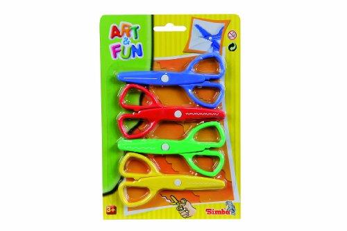 Simba 106309027 - Art & Fun 4 Scheren