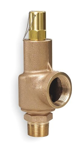 Aquatrol - 89C2-125 - Safety Relief Valve, 1 x 1-1/4 In, 125 psi by AquaTrol