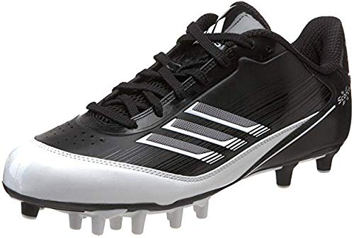 - adidas Men's Scorch X Superfly Low Football Cleat,White/Collegiate Navy/Metallic Silver,9 M US