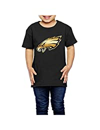 Little Girls' Philadelphia Eagles Gold Logo 2-6 Years Old Toddler T-Shirt