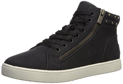 Koolaburra by UGG Women's W Kayleigh HIGH TOP Sneaker, Black, 9 Medium US
