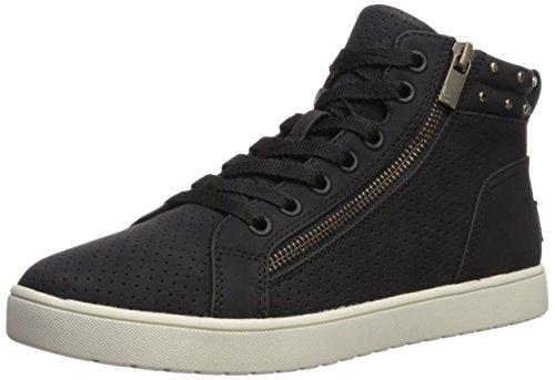 Koolaburra by UGG Women's W Kayleigh HIGH TOP Sneaker Black 7.5 Medium - With Zipper Uggs