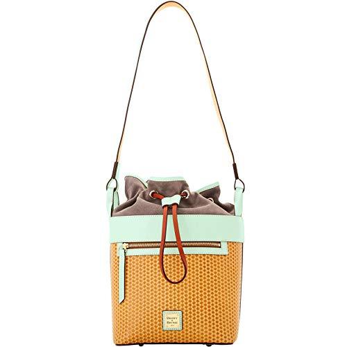 Dooney & Bourke Beacon Woven Large Drawstring Shoulder Bag