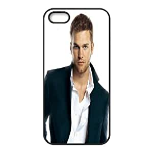 Tom Brady Series, For Iphone 5/5S Phone Case Cover Tom Brady Handsome For Iphone 5/5S Phone Case Cover [Black]