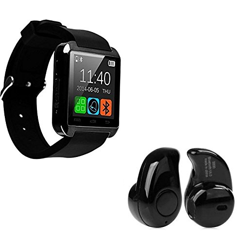 Raptas U8 Multifeatured Smartwatch Phone with Bluetooth Headset Suitable For all Smart Phones