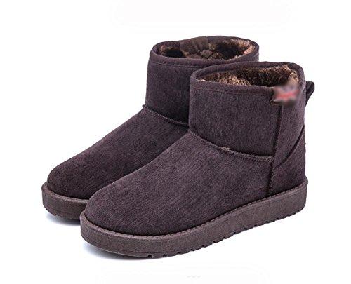 caldi antiscivolo corti cashmere da versione Scarpe di stivali MEILI da stivali donna cotone stivaletti più 2 scarpe tubo coreana da piatti corto donna neve 6w0FUB