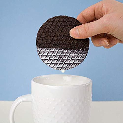 Rip Van Wafels Cookies & Cream Stroopwafels - High Protein Snacks (10g Protein) - Non GMO Snack - Keto Friendly - Office Snacks - Healthy Snacks - Low Sugar (5g) - 12 Pack 7