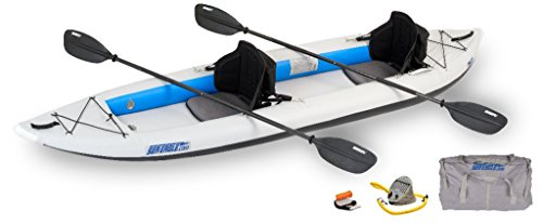 Inflatable 2 Person Kayak Pro Package (385-Feet 12-Feet 6-Inch) (Tandem Kayak Package)