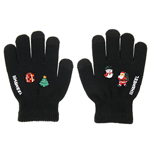 HAWEEL? Three Fingers Touch Screen Gloves