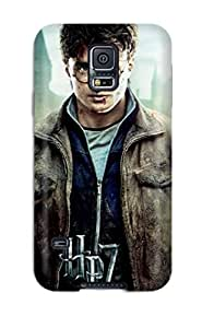 Durable Defender Case For Galaxy S5 Tpu Cover(harry Potter And The Deathly Hallows Part 2)