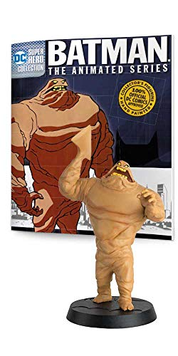 Eaglemoss DC Super Hero Collection: Batman The Animated Series: Special #01 Clayface Figurine, Multicolor -