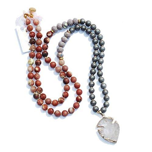 Jade Beaded Necklace - 4