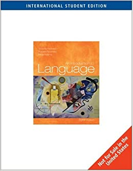 An introduction to language 8th international edition victoria an introduction to language 8th international edition victoria a fromkin 9781413023169 amazon books fandeluxe Gallery